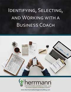 Identifying, Selecting, and Working with a Business Coach eBook Cover
